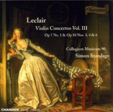 Jean-Marie Leclair - Violin Concertos