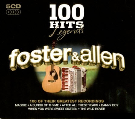 100 Hits Legends - Foster and Allen (5CD) - 2009