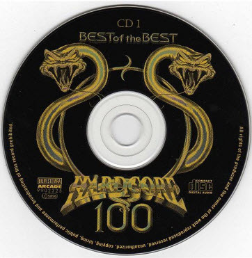 VA - Hardcore 100 - Best Of The Best (4CD) - 1997