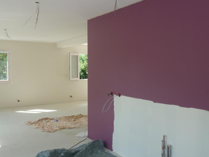 A votre avis couleur cuisine sam salon for Peinture aubergine