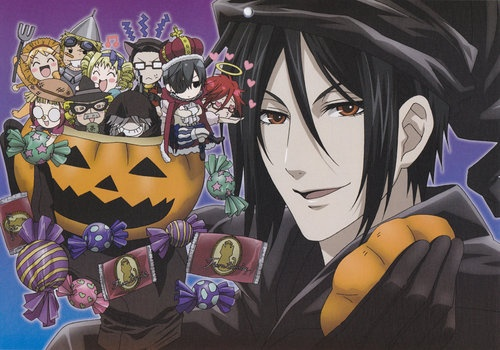 Kuroshitsuji (Black butler) version halloween