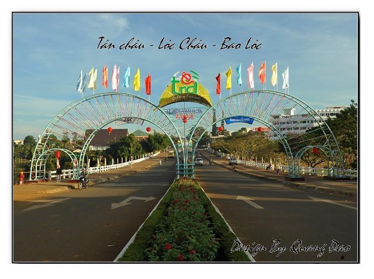 Tân Châu - Lộc Châu - BảoLộc City