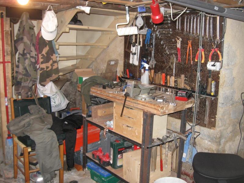 Enfin un peu d 39 espace am nager for Amenager un garage en atelier