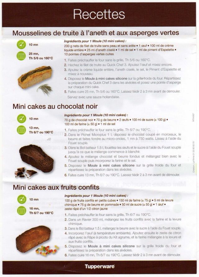 Recette tupperware gateau chocolat
