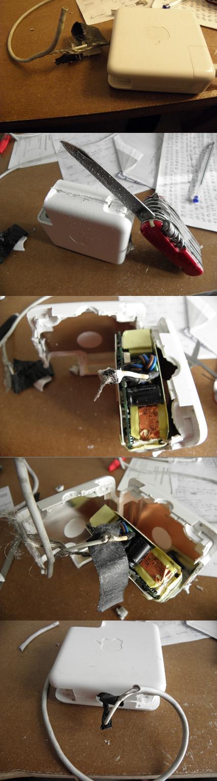 comment reparer un chargeur d'ordinateur portable