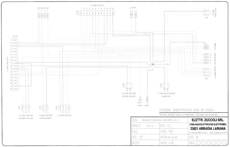 Schema Elettrico X9 250 : Schema elettrico hm cre fare di una mosca